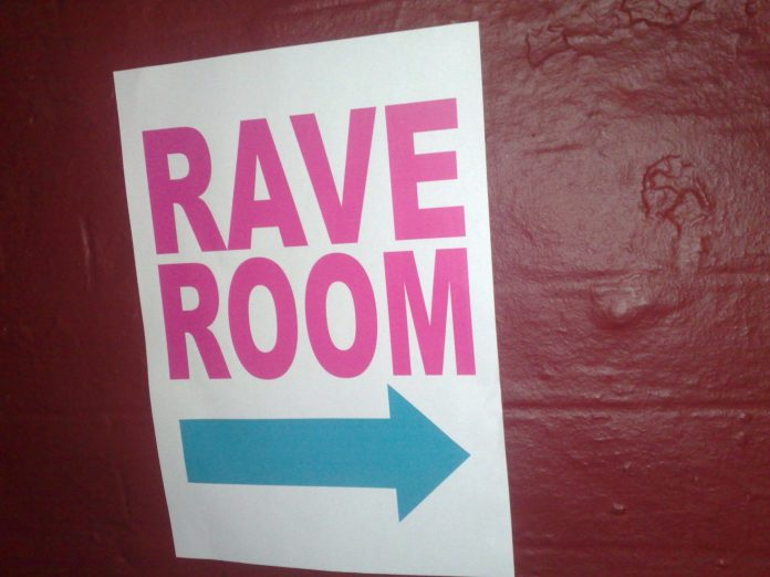 Enter the rave room