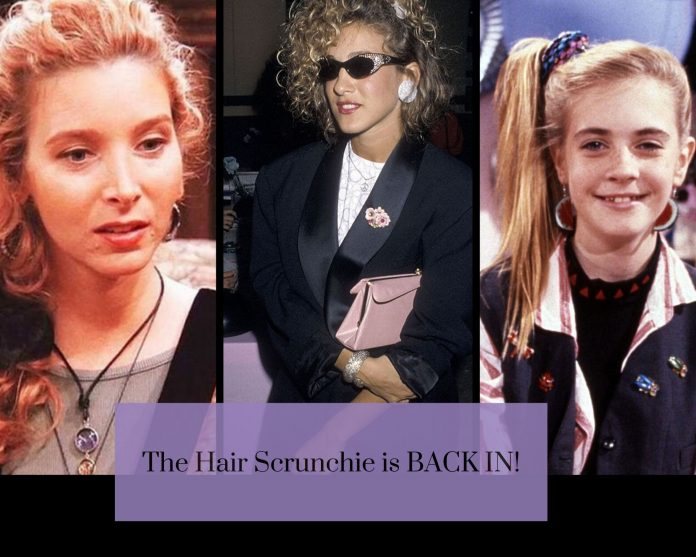 90s Hair Scrunchies Styling Tips