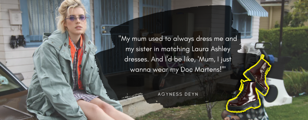 Agyness Dean Doc Martens Quote