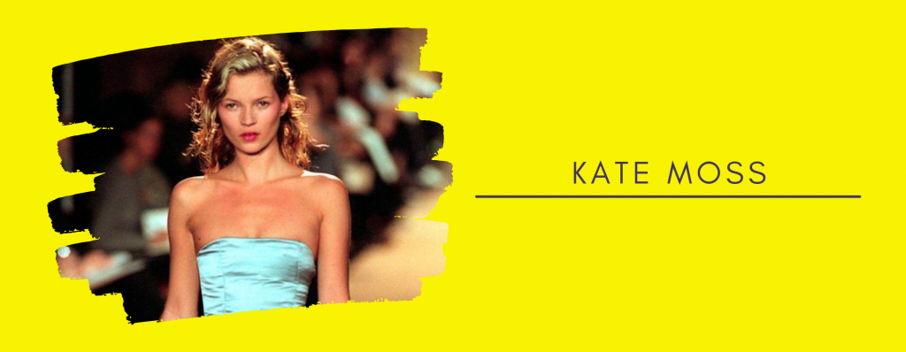 Kate Moss on the Runway