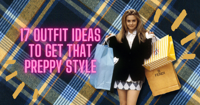 Preppy Outfit Ideas with a picture of cher horowitz from clueless