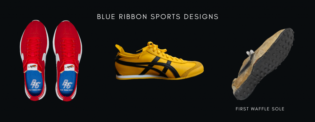Blue Ribbon Sports Designs Sneakers: First Waffle Sole