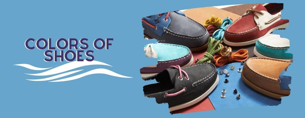 colors of boat shoes