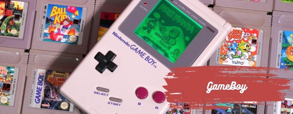 GameBoy was a popular present for a 90s Christmas